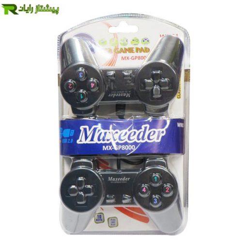 دسته بازی با سیم مکسیدر مدل MX GP8000 WN01
