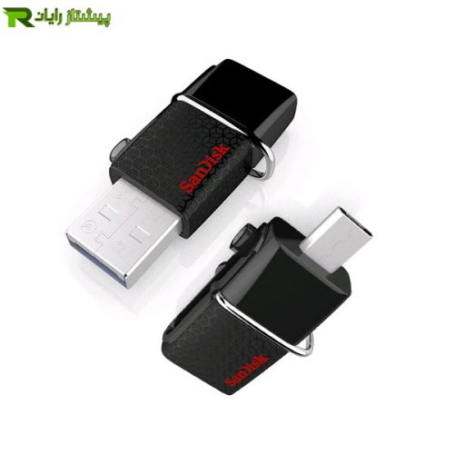 فلش مموری سن دیسک مدل Ultra Dual USB Drive m3.0 با ظرفیت 16 گیگابایت