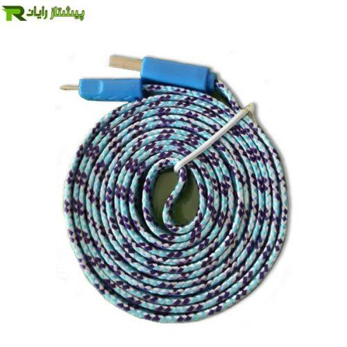 کابل شارژر فلت اندروید به طول 2 متر