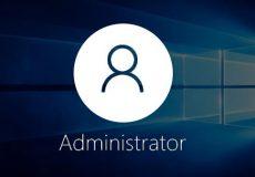 فعال سازی administrator
